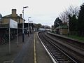 Norbiton station look east.JPG