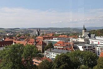 Nordhausen - View of Nordhausen (city centre)