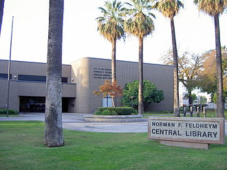 Downtown San Bernardino - Norman F. Feldheym Library