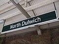 North Dulwich stn signage.JPG