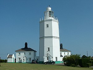 Goodwin Sands - North Foreland Lighthouse