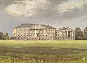 Nostell Priory - Nostell Priory in 1880