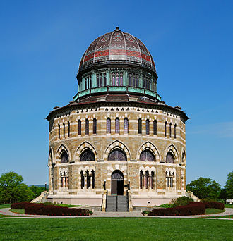 Edward Tuckerman Potter - Nott Memorial Hall, Union College, completed 1879