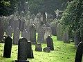 Nottingham General Cemetery, gravestones - geograph.org.uk - 1408910.jpg