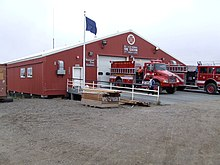 The Nuiqsut Fire Station