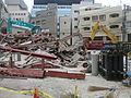Nunobikicho scaffolding accident.JPG