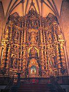 Oñati, Iglesia de San Miguel, altar mayor