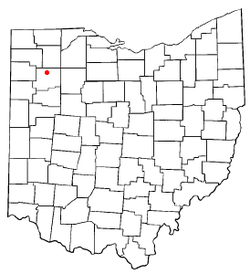 Location of Miller City, Ohio