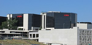 Coles Supermarkets - Coles headquarters site, adjacent to Toorak Rd in Hawthorn East, Melbourne