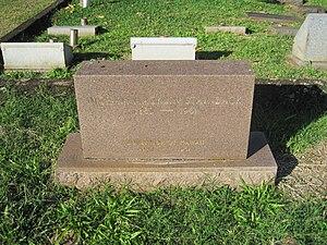 Ingram Stainback - Tombstone of Ingram Macklin Stainback, Oahu Cemetery