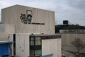 English: The Oakville Centre for the Performin...