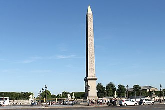 Luxor Obelisk - The Obelisk of Luxor at the centre of the Place de la Concorde