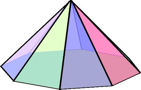 Octagonal pyramid1
