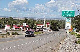 Olathe, Colorado - Olathe in 2014.