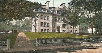 Milford, Massachusetts - Image: Old High School, Milford, MA
