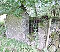 Old Laigh Borland pigsty gable end, Dunlop, East Ayrshire, Scotland.jpg