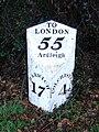 Old Milepost - geograph.org.uk - 1716242.jpg