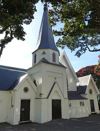 Old St Paul's, Wellington - Image: Old Saint Pauls, Wellington, New Zealand (20)