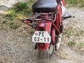 Old motorcycle plate Czech Republic.JPG