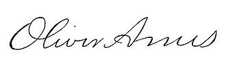 Oliver Ames Jr. - Image: Oliver Ames, Jr. 1807 1877 signature