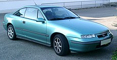Opel Calibra frontral