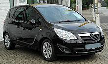 Opel Meriva B 1.3 CDTI Edition front-1 20100722.jpg