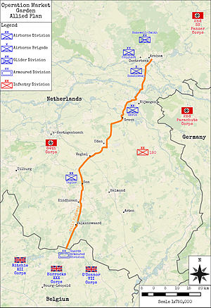Operation Market Garden - Operation Market Garden - Allied Plan