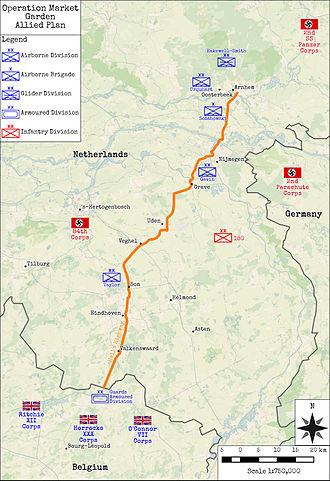 Operation Market Garden - Operation Market Garden - Allied Plan