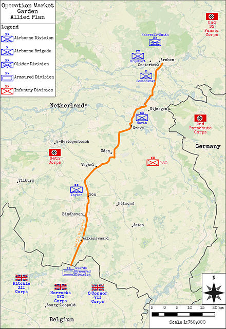 Operation Market Garden - Allied Plan OperationMarketGardenAlliedPlan.jpg