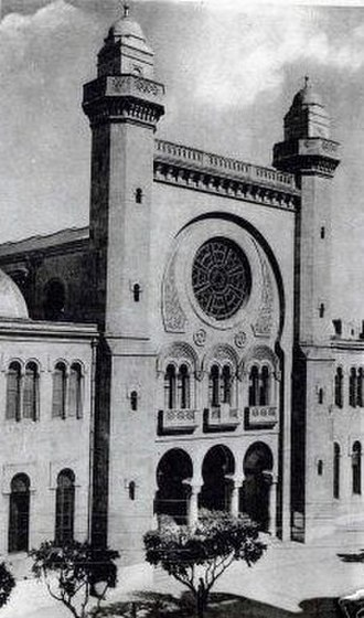 Oran - The Great Synagogue of Oran was confiscated and turned into a mosque, after Jewish Algerians left Algeria in 1962.