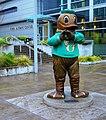 Oregon Duck in Front of Matthew Knight Arena (3) (27320390869).jpg