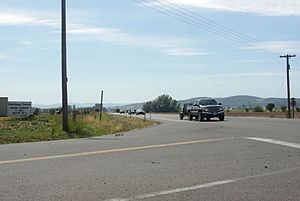 Oregon Route 18 - Oregon 18 approaching McMinnville