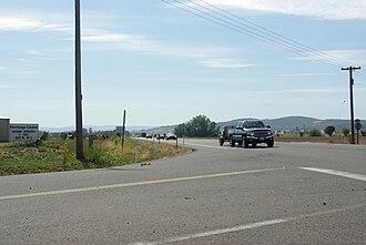 Oregon Route 18 - Oregon 18 approaching McMinnville