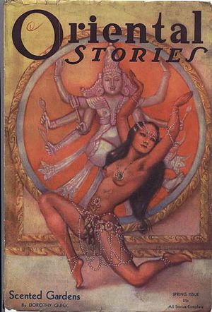 Margaret Brundage - Brundage also did illustrations for Oriental Stories in the early 1930s.
