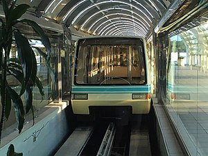 Orlando International Airport People Movers - Shuttle at Airside 4 station
