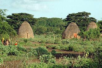 Orma people - Orma village in Tana River County, Kenya