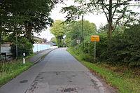 Ortsschild von Wees bei Blocksberg (Flensburg), Bild 01.JPG