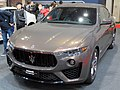 Osaka Motor Show 2019 (132) - Maserati Levante Zegna Pelletessuta (ABA-MLE30E).jpg