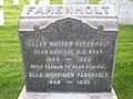 Oscar W. Farenholt headstone.JPG