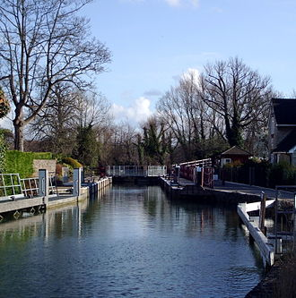 Osney Lock - Osney Lock from the north