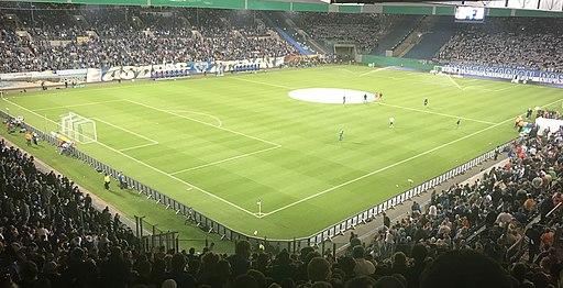 Ostseestadion am 14.08.17