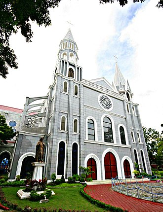 Tuguegarao - The Our Lady of Chartres Chapel within the campus of St. Paul University Philippines, inspired by French Gothic architecture