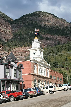 Ouray City Hall and Walsh Library