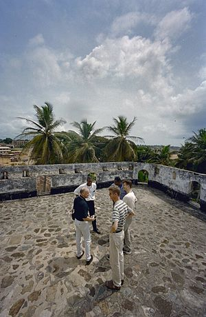 Axim - Fort Santo Antonio in Axim