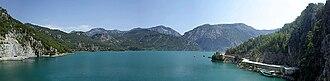 Oymapinar Dam - Image: Oymapınar Dam