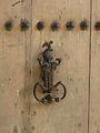 Périgueux rue Plantier 3 porte marteau.JPG