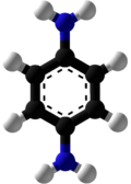 P-Phenylenediamine Ball and Stick.png