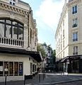 P1030273 Paris XIV rue Larochelle théâtre Montparnasse rwk.JPG