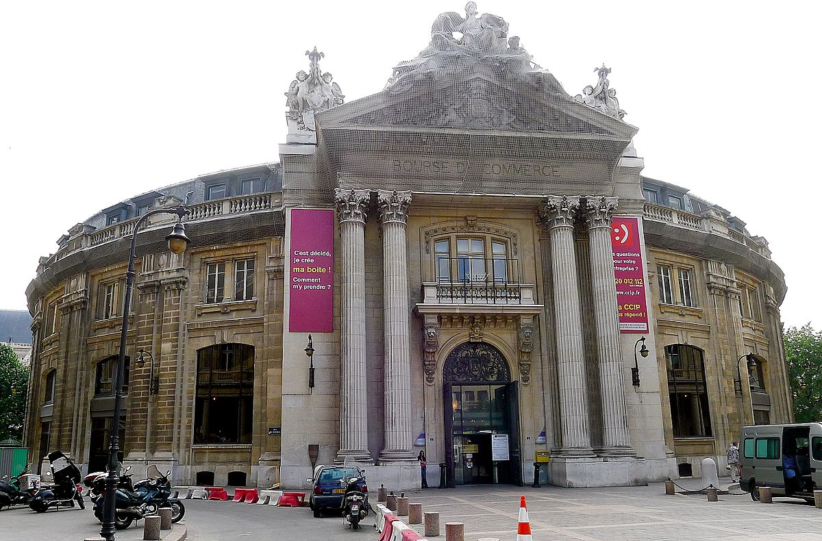 bourse de commerce de paris — wikipédia