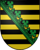 Coat of arms of Saxony.